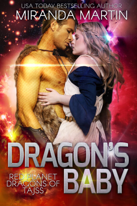 Cover of Dragon's Baby: Red Planet Dragons of Tajss Book #1