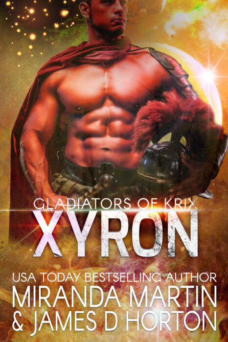 Cover for Xyron: A SciFi Alien Gladiator Romance (Gladiators of Krix)