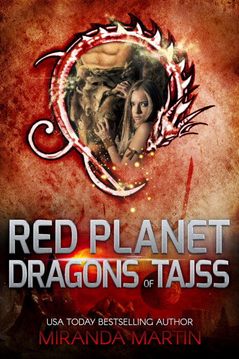 Cover for Red Planet Dragons of Tajss: A SciFi Alien Romance (Red Planet Jungle Book 1)