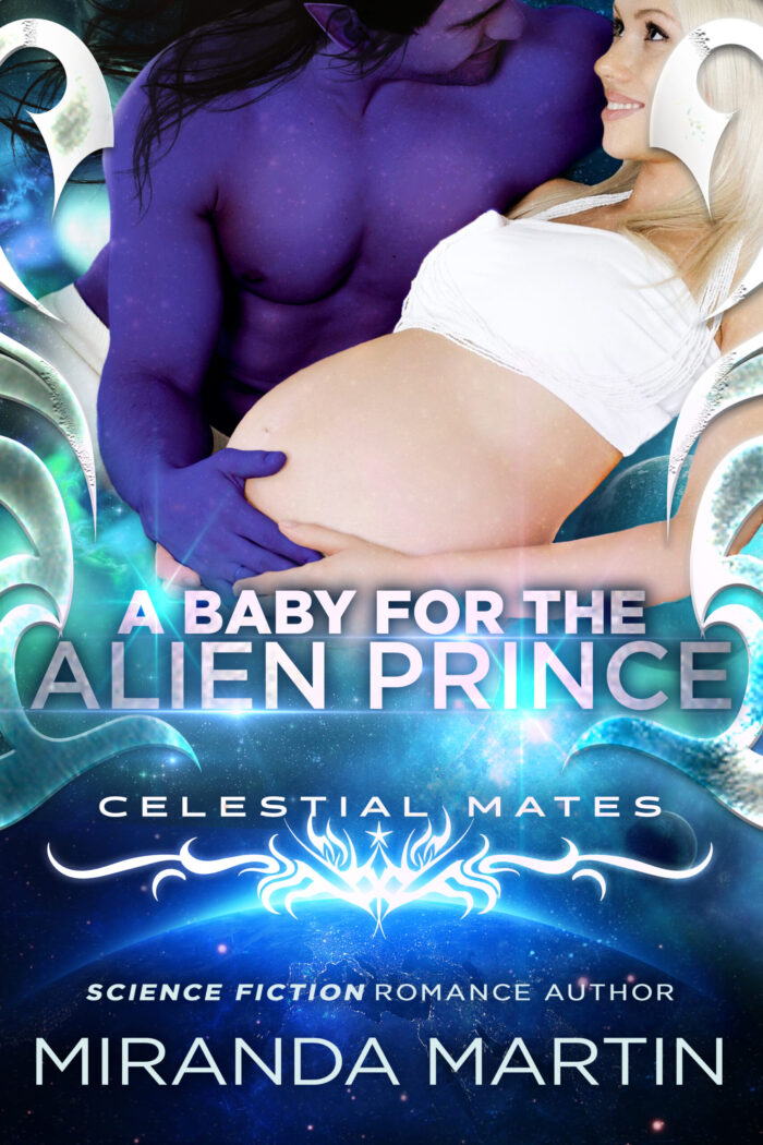 Cover for A Baby for the Alien Prince: Celestial Mates (The Alva Book 1)